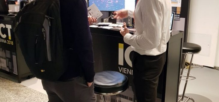 InnoConnect raised lot of interest at the ICT2018 conference in Vienna
