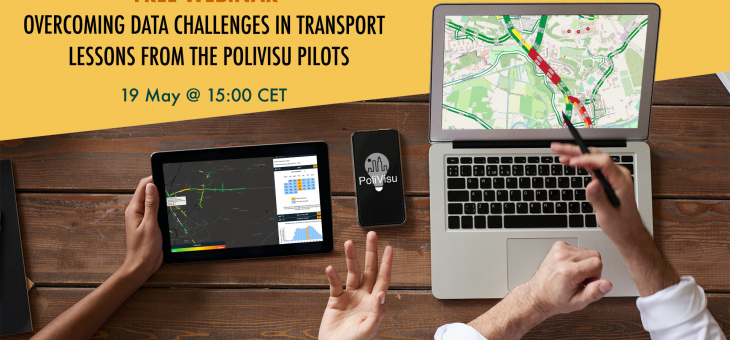 Join the PoliVisu webinar: How to overcome data challenges in transport policy making?