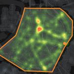 Antwerp traffic accidents heatmap