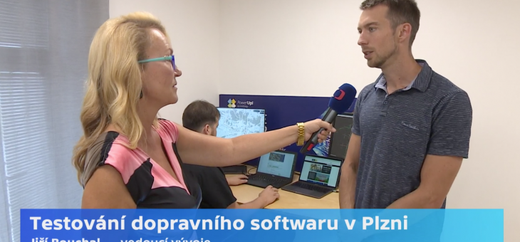 Our work for PoliVisu on the Czech TV